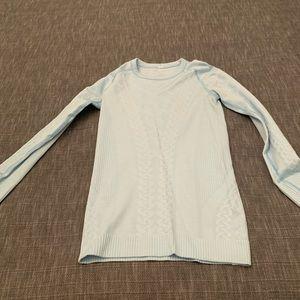 Baby blue lululemon long sleeve